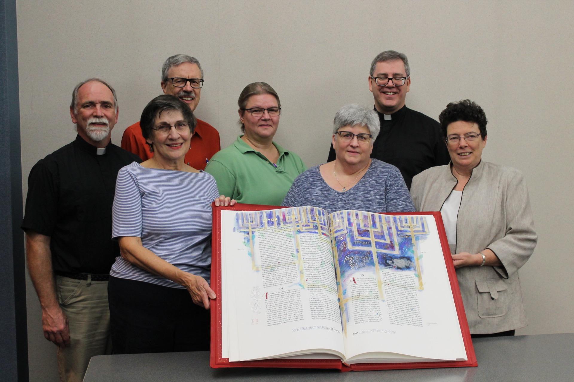 St Johns Bible Team
