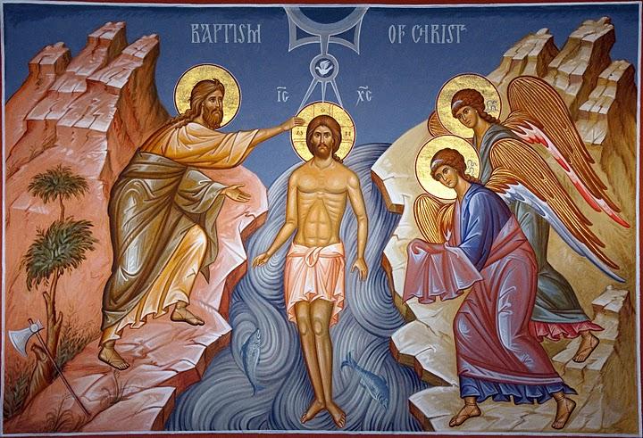 Baptism of Jesus B