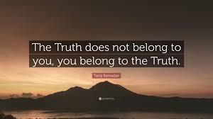 Truth - Belonging
